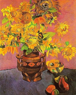 Gauguin-sunflower mangoes