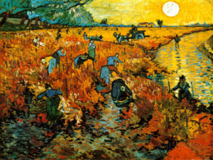 vincent_vineyard arles 1888