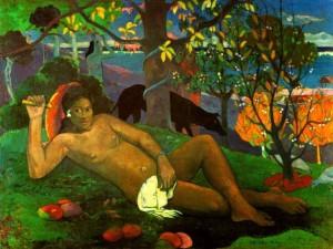 Gauguin Kralova zena c